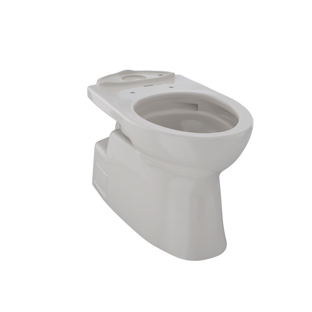 Vespin II Elongated Toilet Bowl Only with CeFiONtect in Sedona Beige