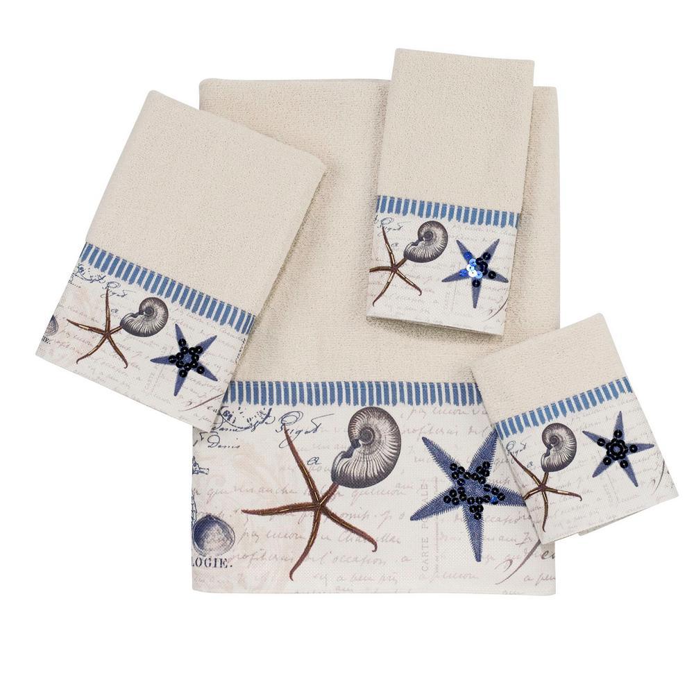 Antigua 4-Piece Towel Set in Ivory