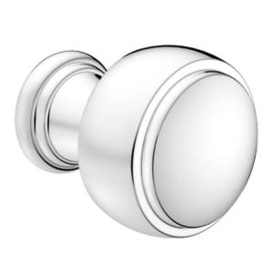 Moen Weymouth 1-1/6 inch Chrome Cabinet Knob by MOEN