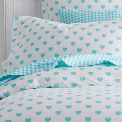 Sweetheart 200-Thread Count Cotton Percale Duvet Cover