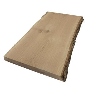 2 in. x 8 in. to 12 in. x 8 ft. White Oak Live Edge Sawn Board