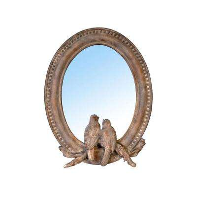 Paradise 9.5 in. x 7.5 in. Framed Wall Mirror