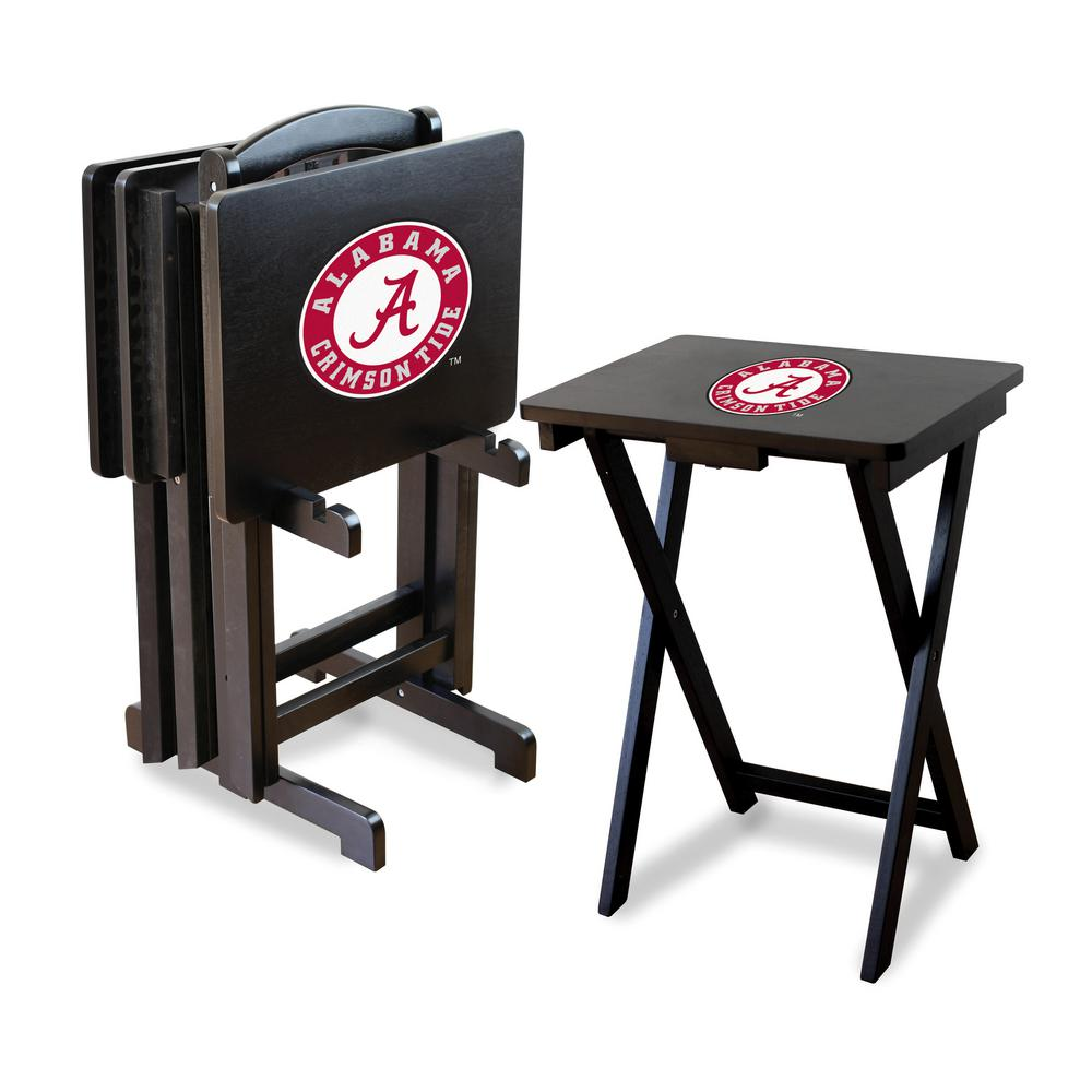 University of Alabama TV Trays with Stand