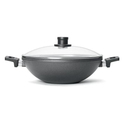 Woll Nowo 12.5 in. Wok with 2-Side Handles and Lid