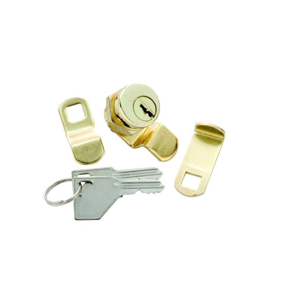 Polished Brass Mailbox Cam Lock