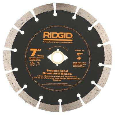 7 in. Segmented Diamond Blade