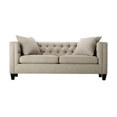 Lakewood 85 in. Beige Linen Sofa