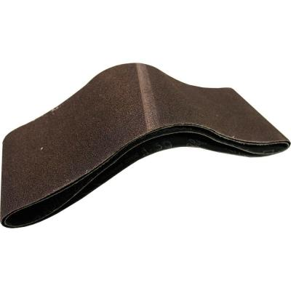 4 in. x 24 in. 60-Grit Abrasive Belt (2-Pack)