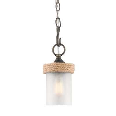 Chatham 1-Light Gunmetal Bronze Mini-Pendant