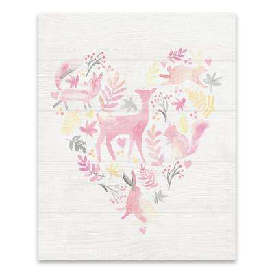 """""""Woodland Heart""""  by Lot26 Studio Printed Canvas Wall Art"""
