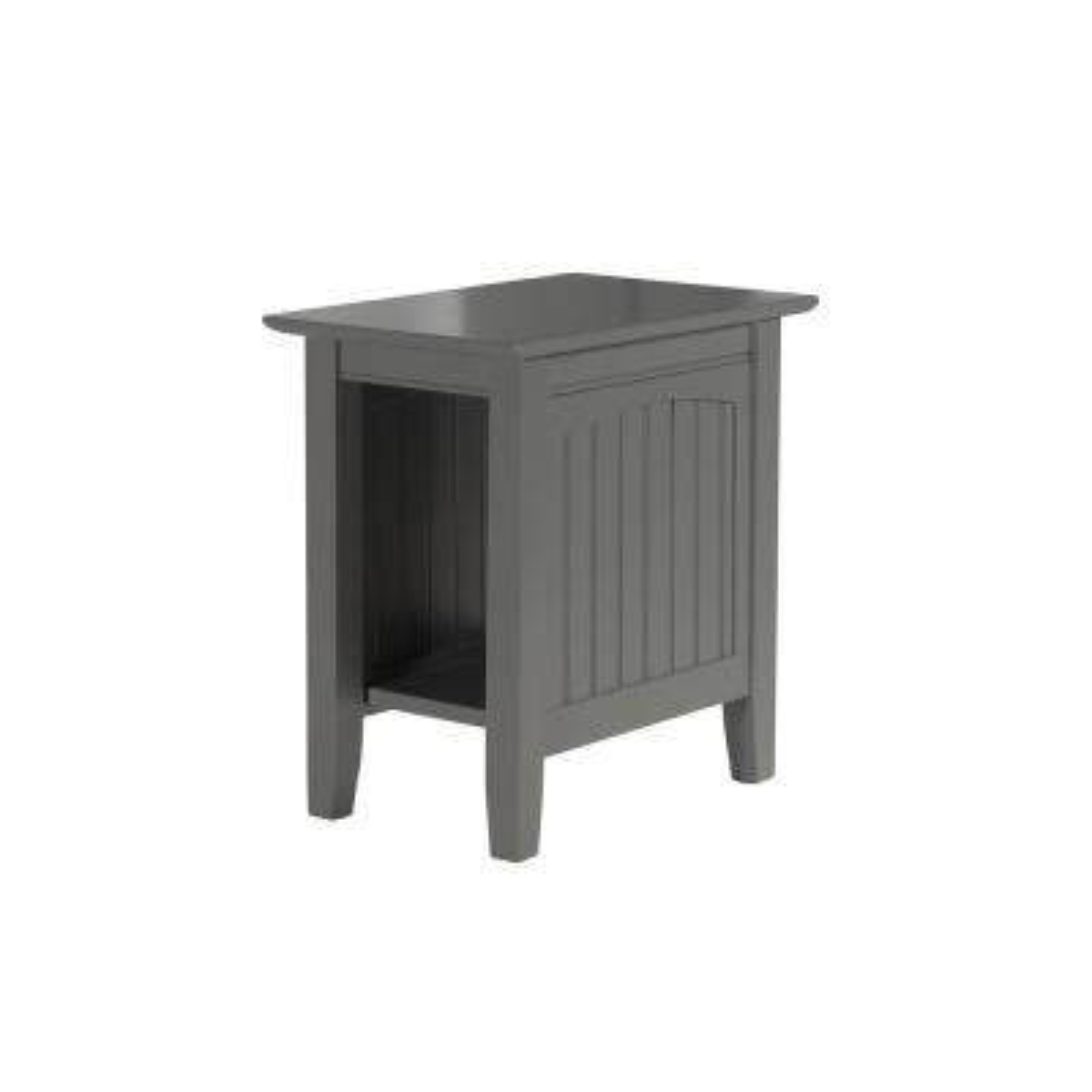 Nantucket Atlantic Grey Chair Side Table