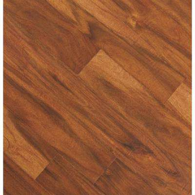 Take Home Sample - Distressed Bronze Acacia Click Lock Exotic Engineered Hardwood Flooring - 5 in. x 7 in.