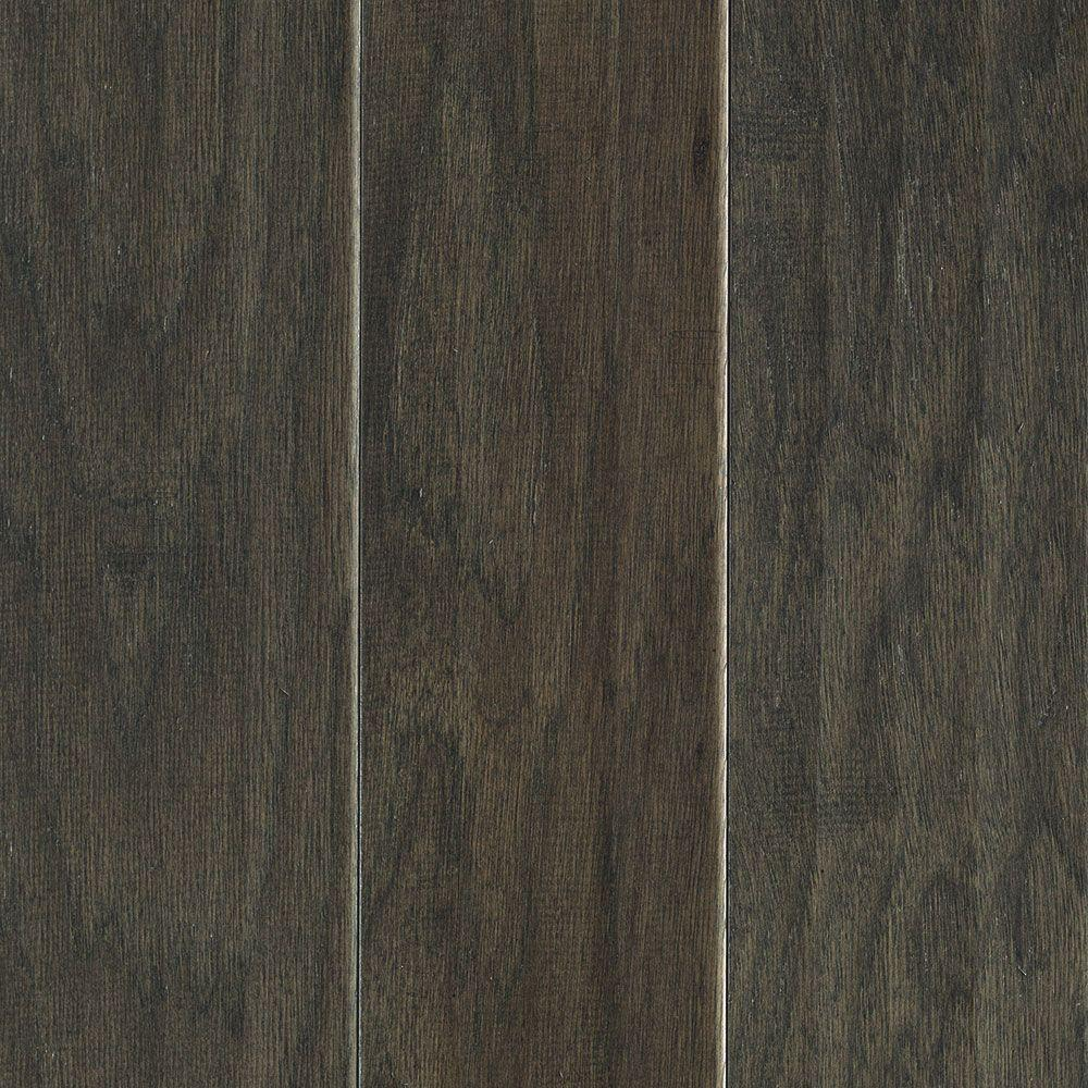 Mohawk Hillsborough Hickory Charcoal 3/8 in. Thick x 5 in. Wide x Random Length Engineered Hardwood Flooring (28.25 sqft./case)