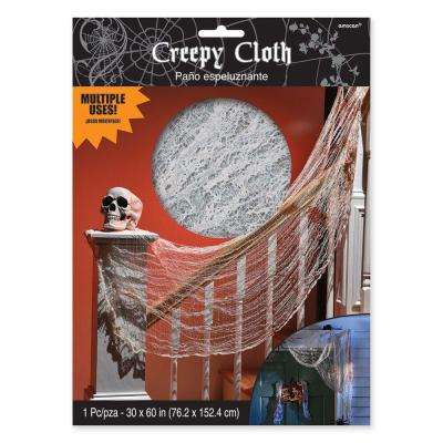 60 in. x 30 in. Halloween Creepy Bloody Cloth (7-Pack)