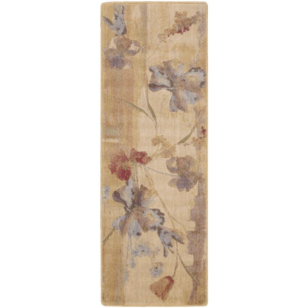 Somerset Beige 2 ft. x 5 ft. 9 in. Rug Runner