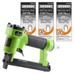 Pneumatic Upholstery Stapler with 22-Gauge Upholstery Staples (3/8 in., 7/16 in. and 5/8 in.)