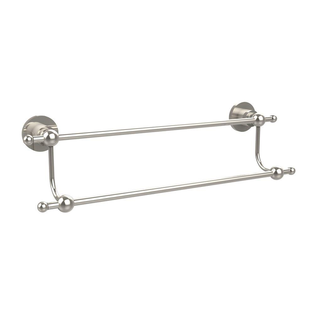 Allied Br Astor Place Collection 36 In Double Towel Bar Polished Nickel