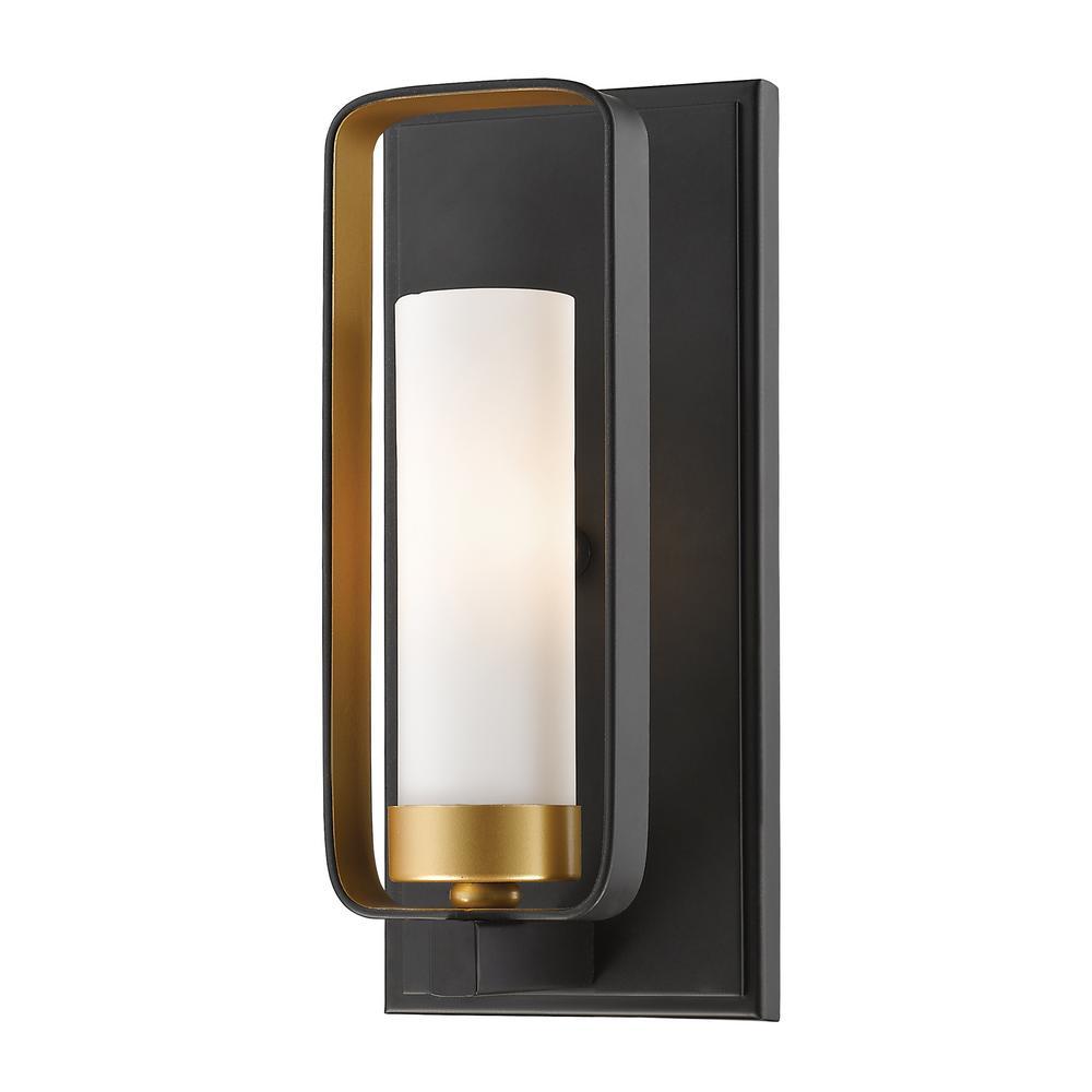 Austin 1-Light Bronze Gold Wall Sconce