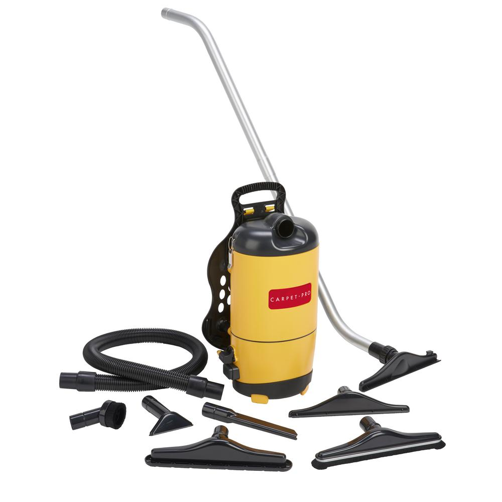 Carpet Pro Back Pack Vacuum with Tools 8.5 Amp New Switch and Straps