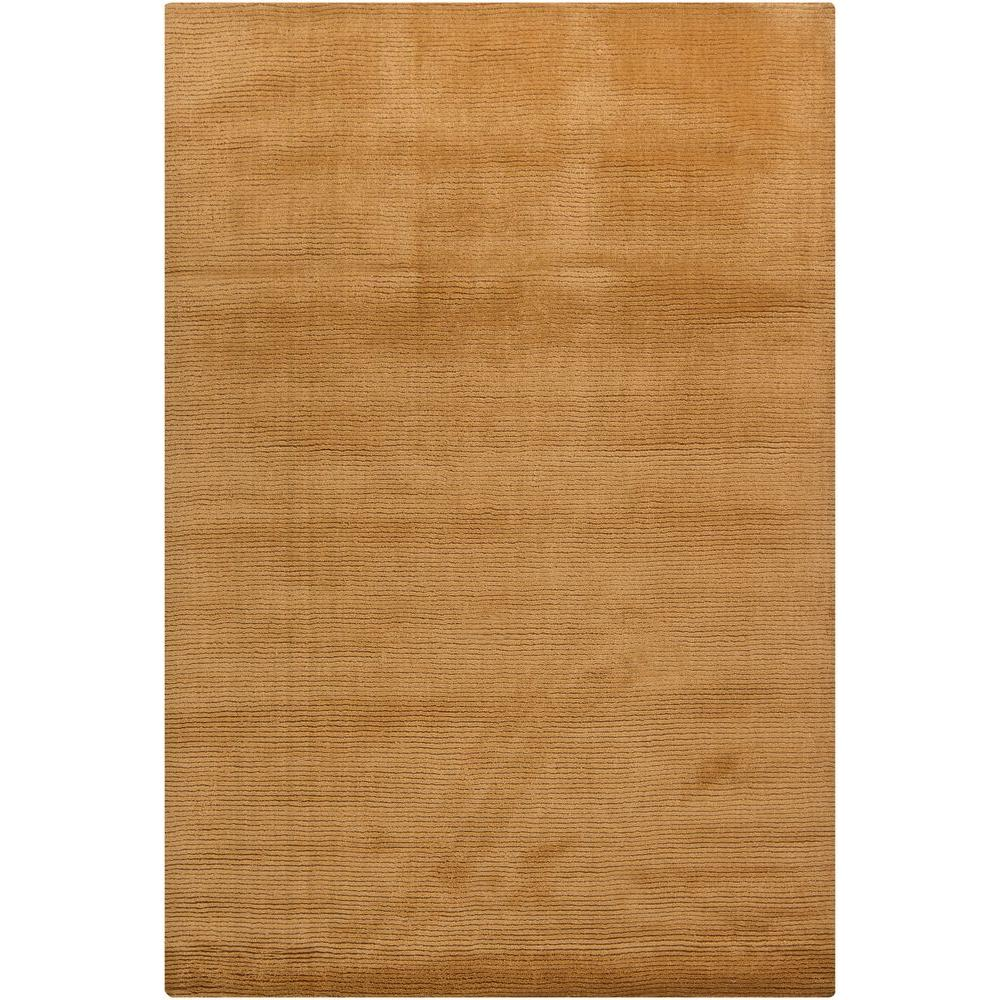 Chandra Ferno Gold 7 ft. 9 in. x 10 ft. 6 in. Indoor Area Rug