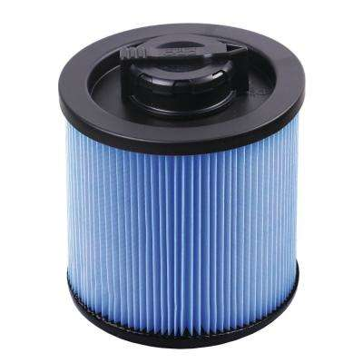 Fine Dust Cartridge Filter for 4 Gal. DeWalt Wet/Dry Vacuum