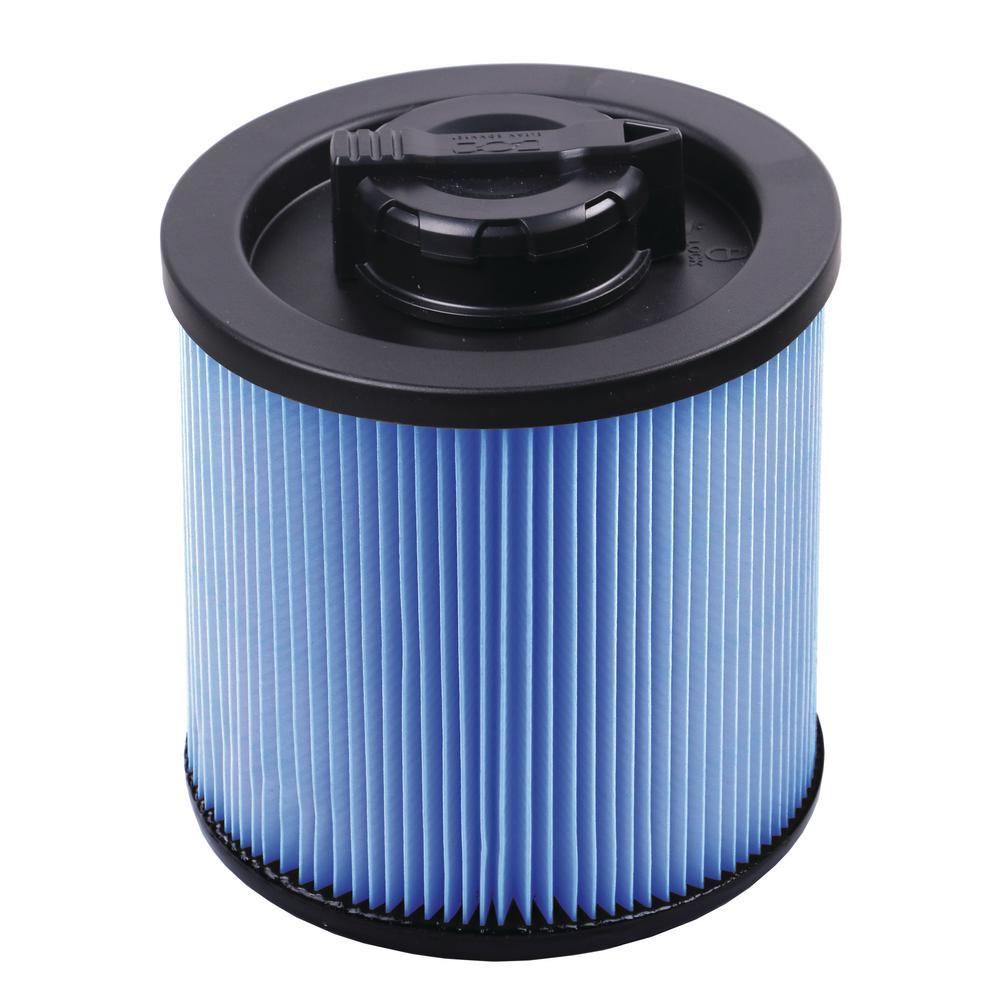 4 Gal. Fine dust Cartridge Filter for Wet/Dry Vacuum