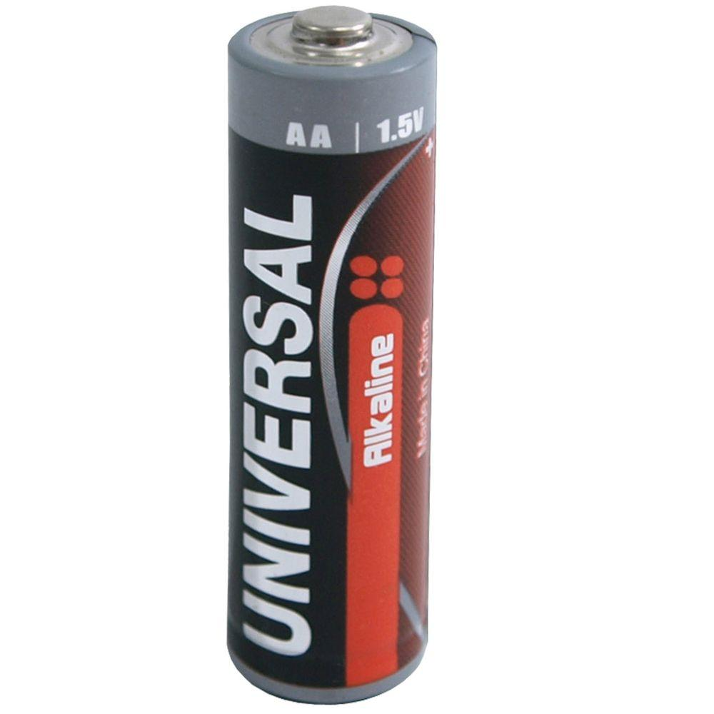 universal alkaline aa battery 50 pack d5312 the home depot. Black Bedroom Furniture Sets. Home Design Ideas