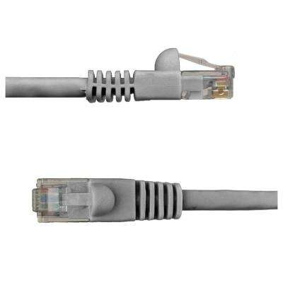 7 ft. Cat6 Snagless Unshielded (UTP) Network Patch Cable, Gray