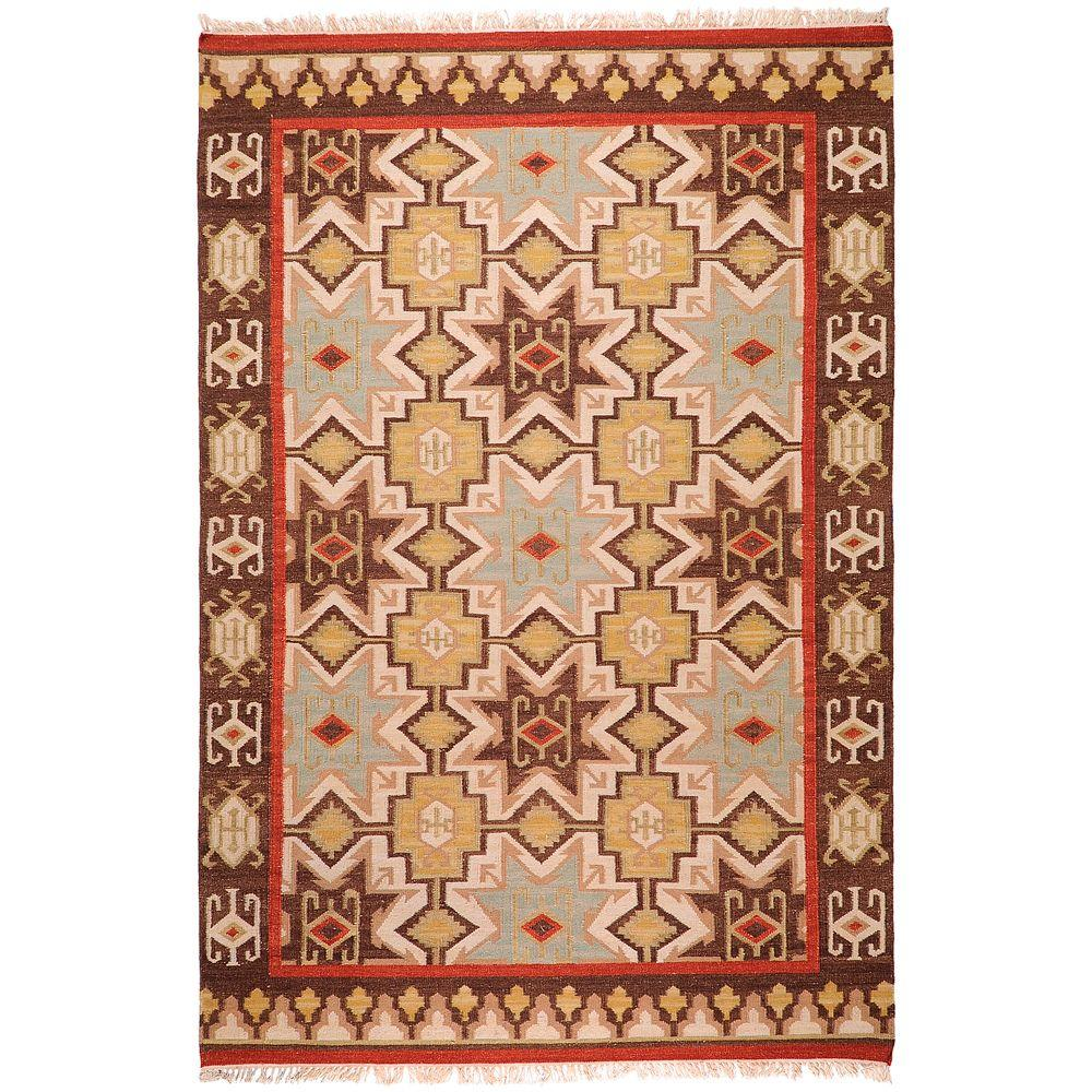 Loudon Chocolate 2 ft. x 3 ft. Accent Rug