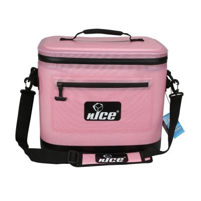 11.25 Qt. Pink Soft Sided Cooler