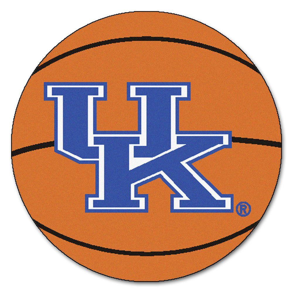 Fanmats Ncaa University Of Kentucky Uk Logo Orange 2 Ft X