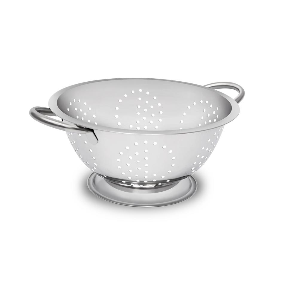 3.5 qt. Stainless Steel (Silver) Colander
