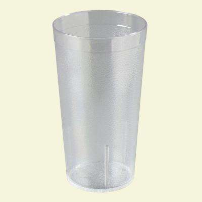 12 oz. SAN Plastic Stackable Tumbler in Clear (Case of 72)