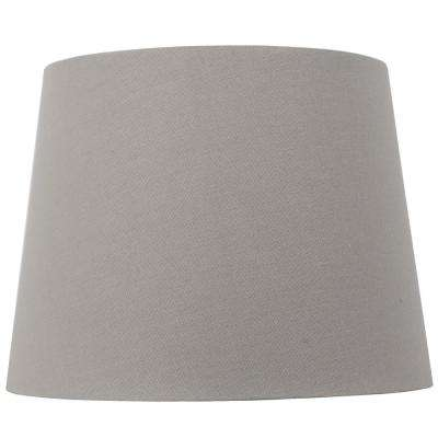 Mix And Match 10 In Dia X 7 5 H Gray Round Accent Shade