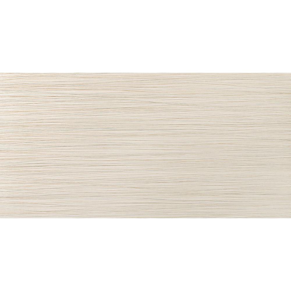 Emser Strands 24 in. x 12 in. Oyster Porcelain Floor and Wall Tile (15.52 sq. ft. / case)