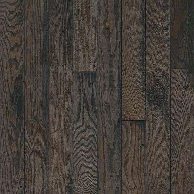 Take Home Sample - Oak Rustic Tone Gray Solid Hardwood Flooring - 5 in. x 7 in.