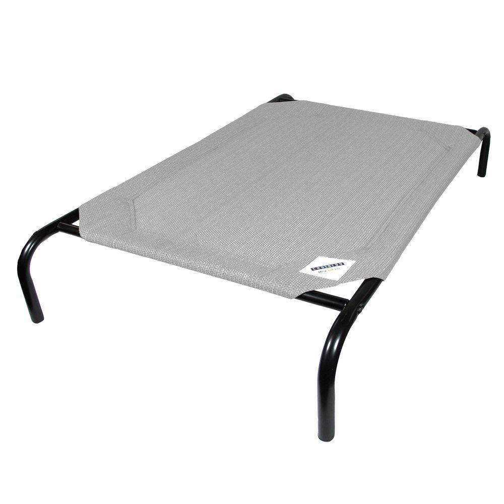 Medium Grey Steel Pet Bed