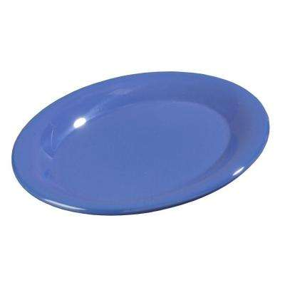 9.5 in. x 7.0 in. Melamine Oval Platter in Ocean Blue (Case of 24)