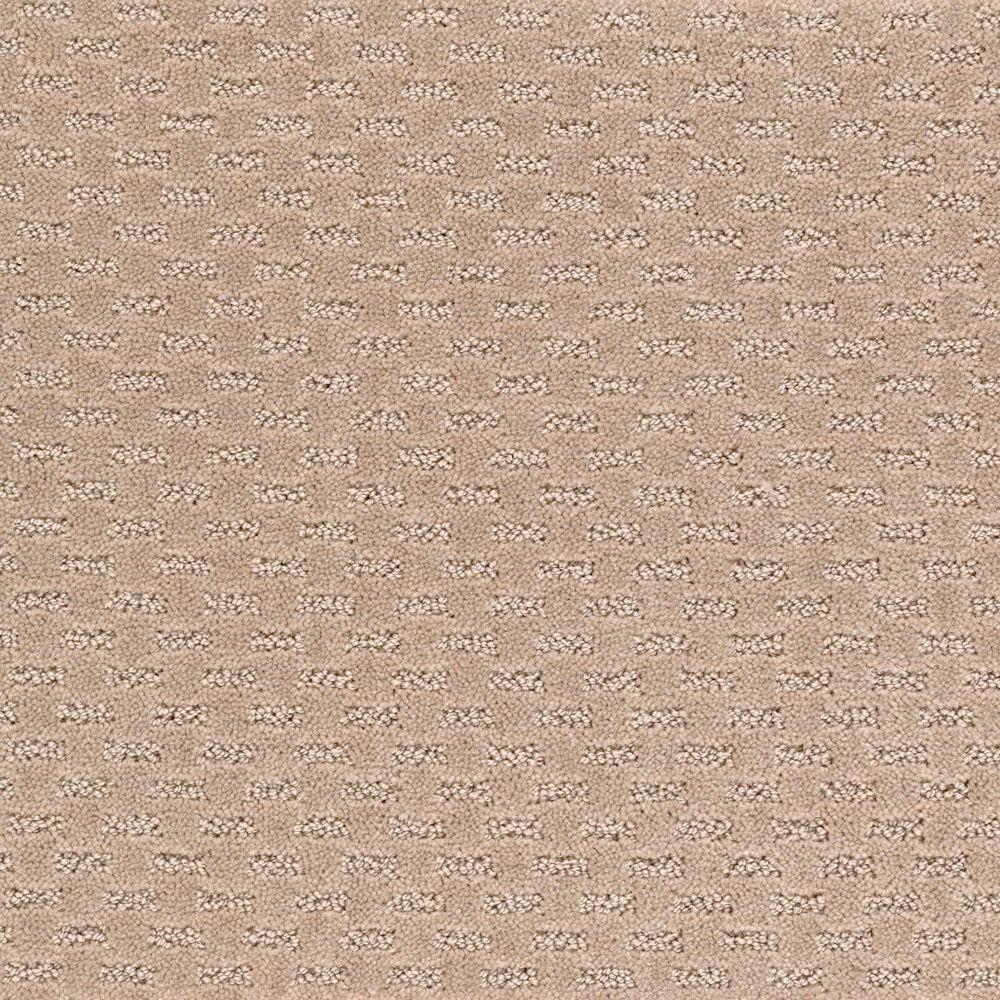 Quiet Reflection - Color Potters Dust Pattern 12 ft. Carpet