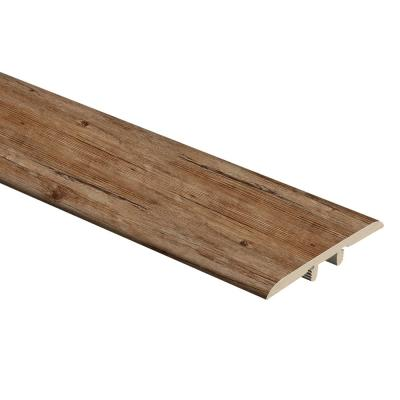 Walton Oak 1/3 in. Thick x 1-3/4 in. Wide x 72 in. Length Vinyl T-Molding