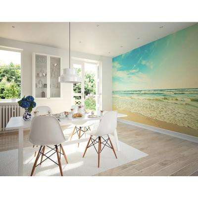 118 in. x 94 in. Seashore Wall Mural