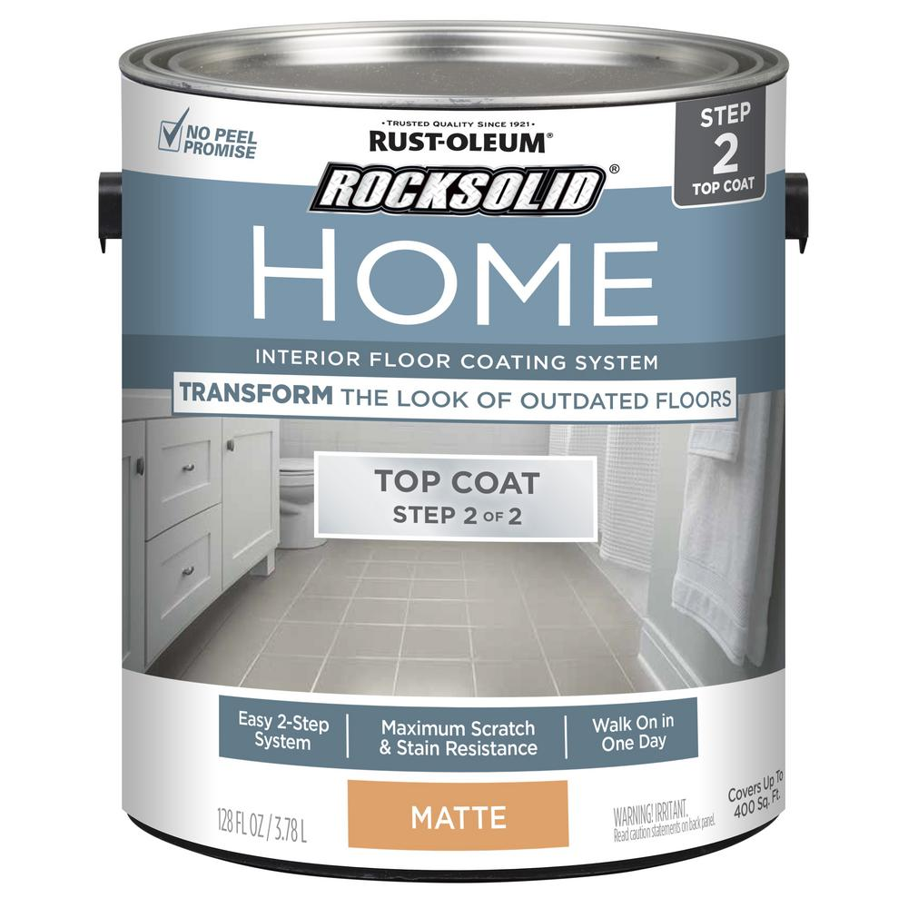 Rust Oleum Rocksolid Home 1 Gal Matte Clear Interior