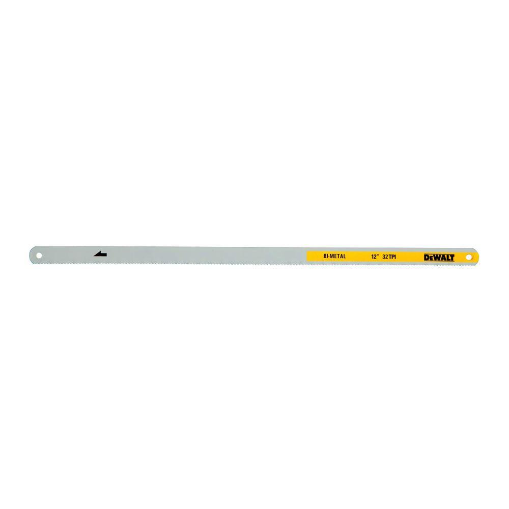 Dewalt 12 in 18 24 and 32 tpi bi metal hacksaw blade 3 pack dewalt 12 in 18 24 and 32 tpi bi metal hacksaw blade keyboard keysfo Image collections