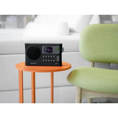 Ultra-Compact Rechargeable Portable Wi-Fi Internet Radio with USB Network Music Player