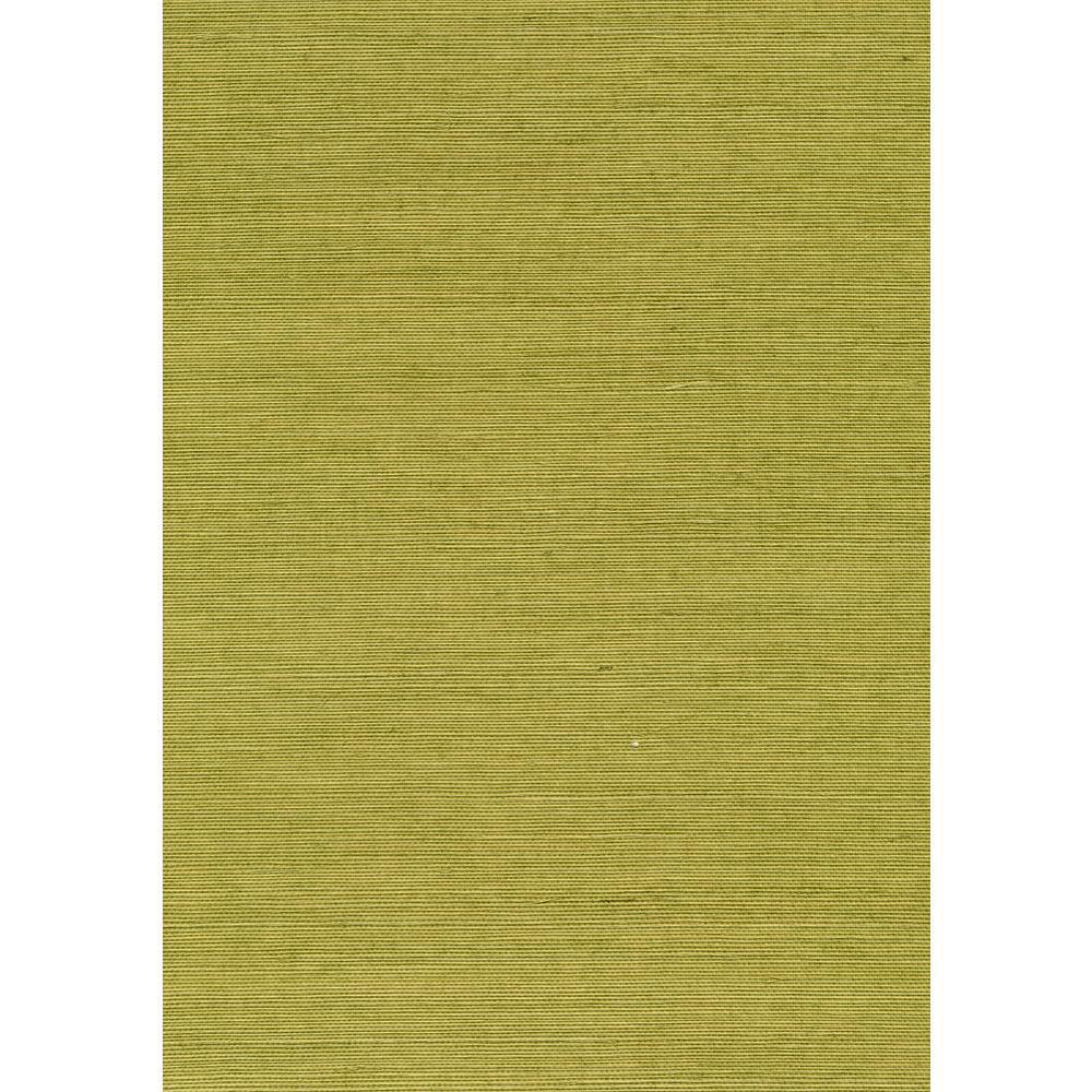 Kenneth James 72 sq. ft. Hana Light Green Grasscloth Wallpaper 53-65413