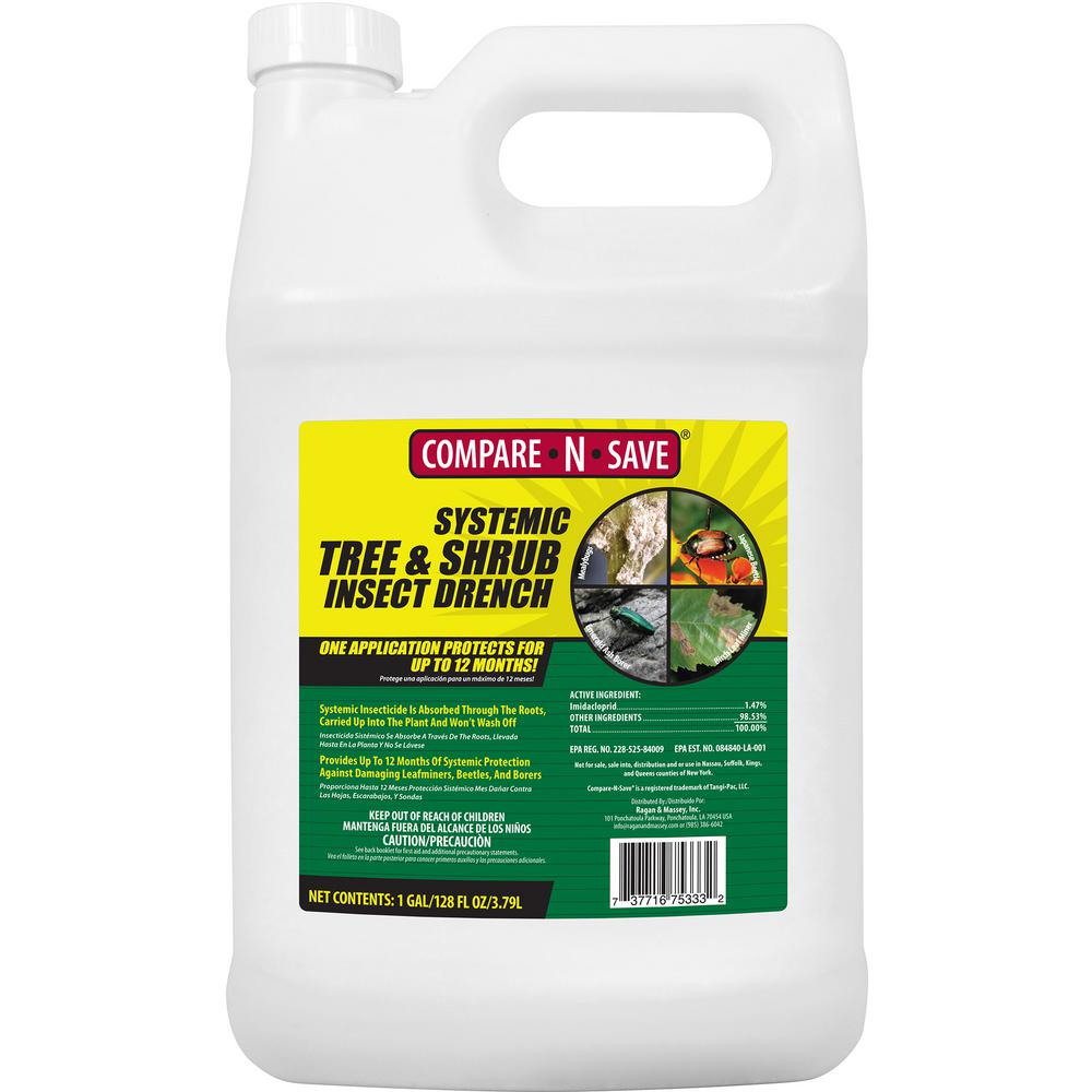 Compare-N-Save 1 Gal. Systemic Tree and Shrub Insect Drench