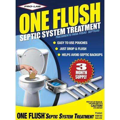 One Flush Septic Treatment 3 Month Supply