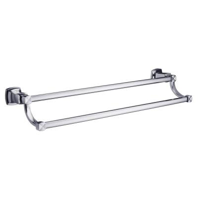 Margaux 24 in. Double Towel Bar in Polished Chrome