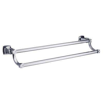 Margaux 24 in. Towel Bar in Polished Chrome
