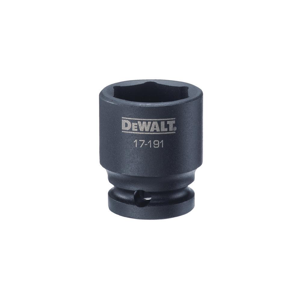 DEWALT 1/2 in. Drive 25 mm 6-Point Impact Socket was $8.99 now $1.8 (80.0% off)